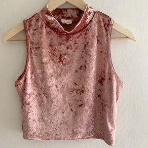 Caution to the Wind - Crushed Velvet TurtleTank